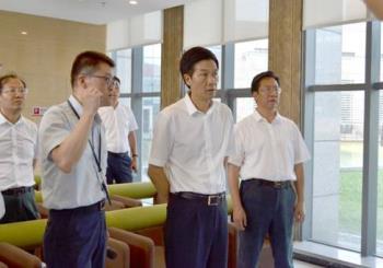 贵州省委常委、市委书记李再勇调研汇通华城