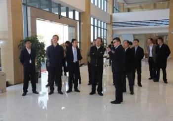 贵州省委常委、常务副省长秦如培调研汇通华城