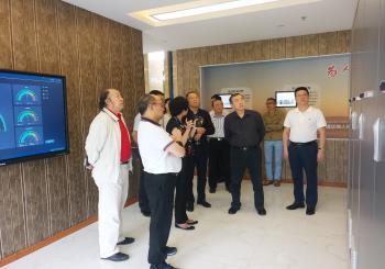 深圳市政协率深圳企业家赴汇通华城考察